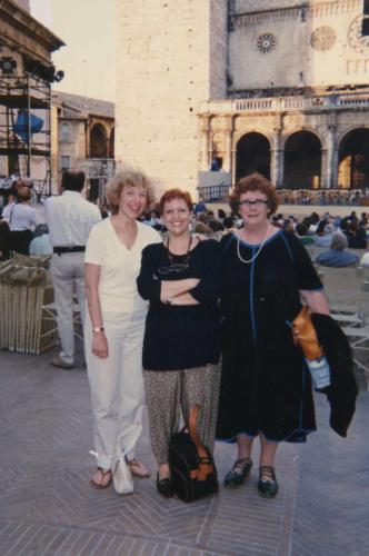 SPOLETO FESTIVAL anni'90 - P.Robison e D. Scott